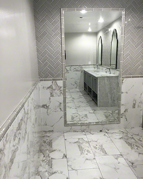 Houzz White Marble